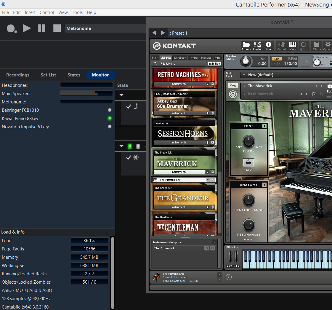 Page faults and Omnisphere 2 - Cantabile - Cantabile Community